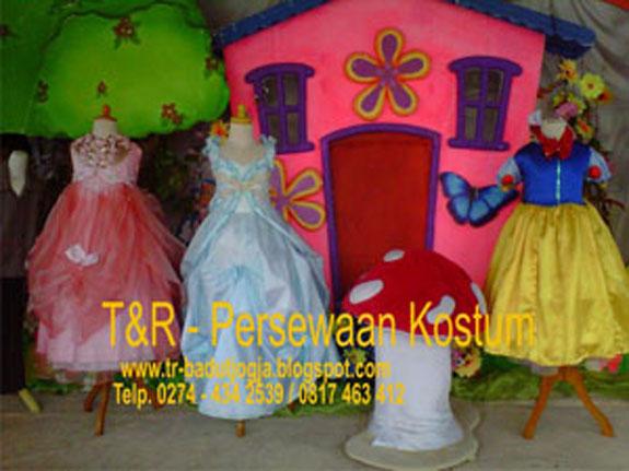 Persewaan Kostum Princess Jogja 0817 463 412