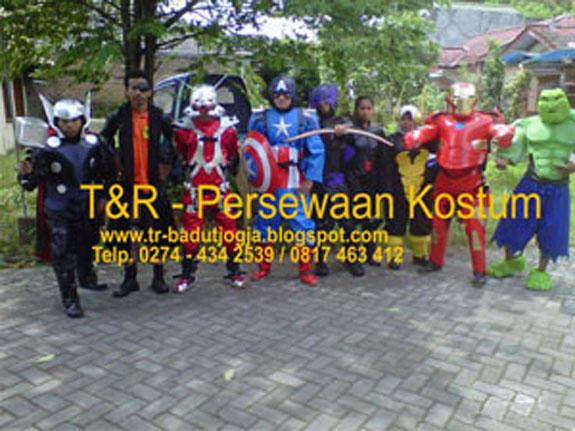 Persewaan Kostum Superhero Jogja 0817 463 412
