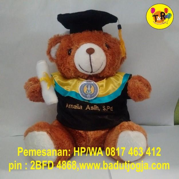 boneka-wisuda-bear-cokelat-ukuran-30cm