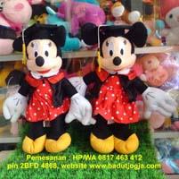Produsen boneka wisuda minnie-mouse-50-cm