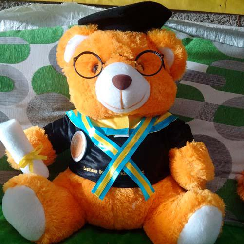 boneka_wisuda_bear_40cm_plus_samir_pin_bordir_nama