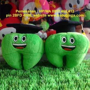 jual boneka-wisuda-gigi-20-cm-warna-hijau