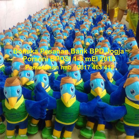 Boneka Maskot Bank BPD Jogja 0817 463 412