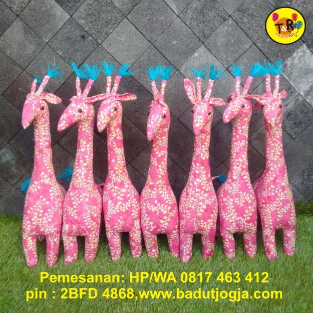 boneka batik jerapah 50cm