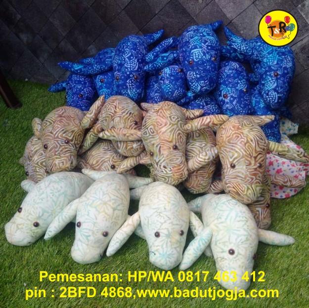 boneka batik katun dugong