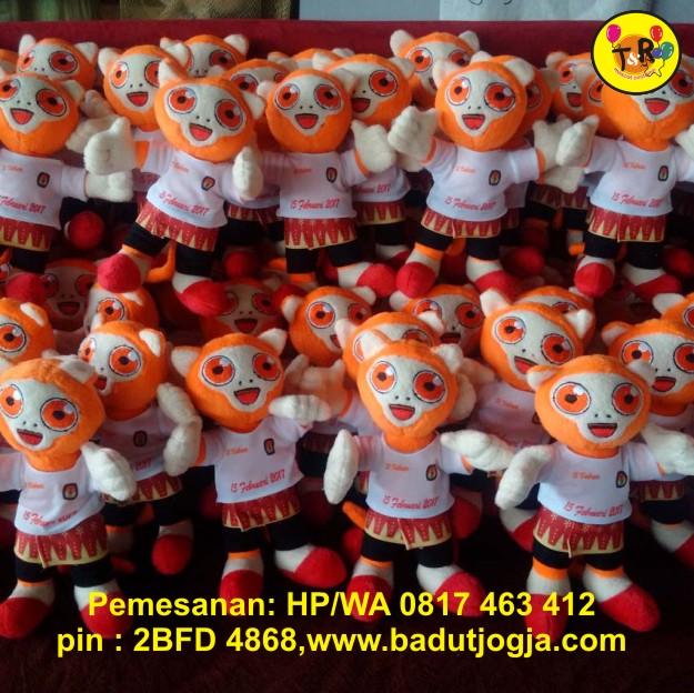 boneka maskot kpu bangka belitung