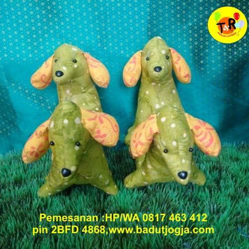 jual boneka batik anjing