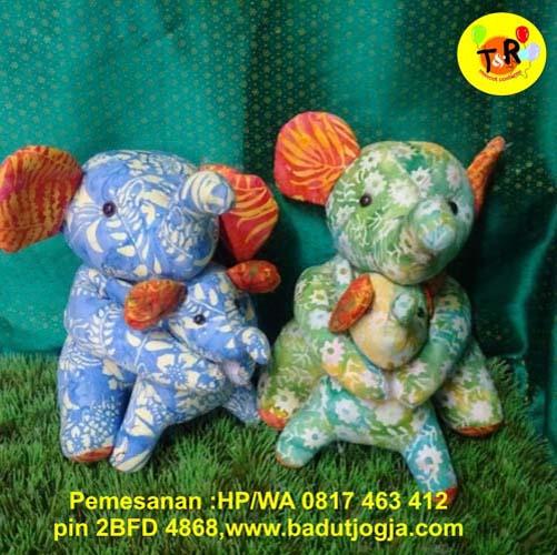 jual boneka batik hean gajah murah