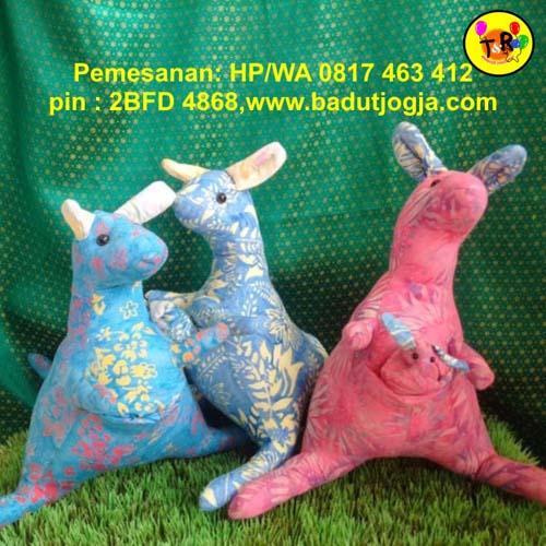 jual boneka batik kangguru murah