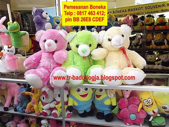 Jual boneka beruang jogja 0817 463 412