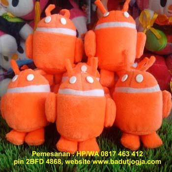 jual boneka-gantungan-kunci-android-orange