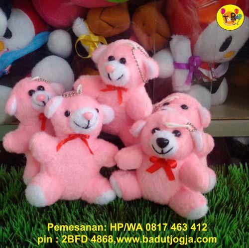 jual boneka-gantungan-kunci-bear-pink