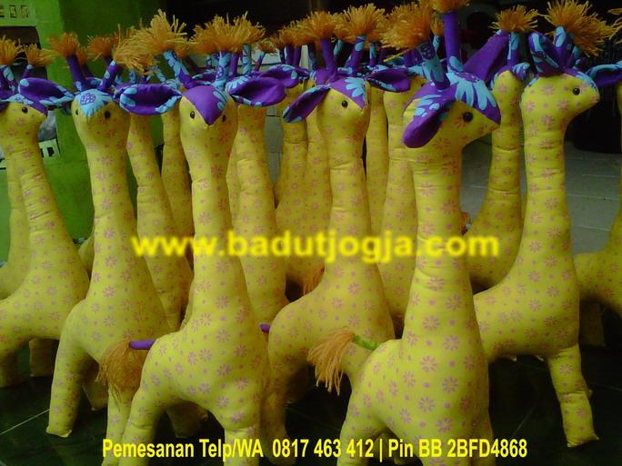 produsen boneka batik jerapah grosiran