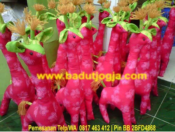 produsen boneka batik jerapah murah