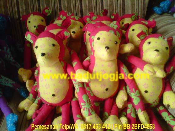 produsen boneka batik monyet murah lucu
