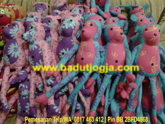 produsen boneka batik monyet murah unik lucu