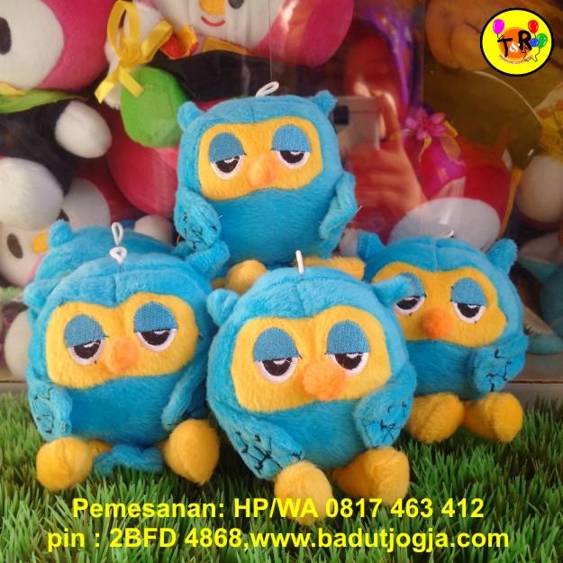 produsen-boneka-gantungan-kunci-owl-biru
