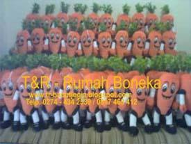 produsen boneka maskot KPU Kalimantan timur