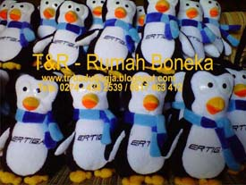 produsen boneka maskot pinguin suzuki