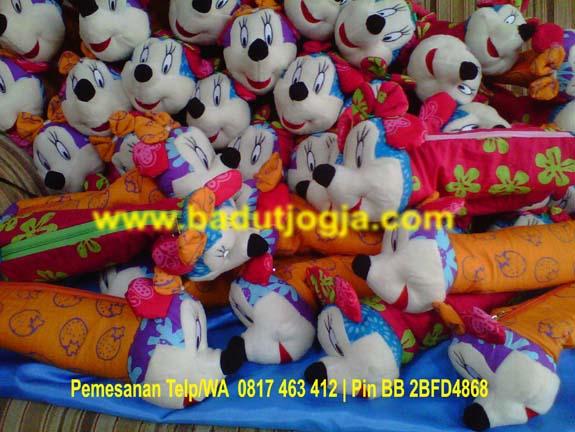produsen jual boneka bantal batik