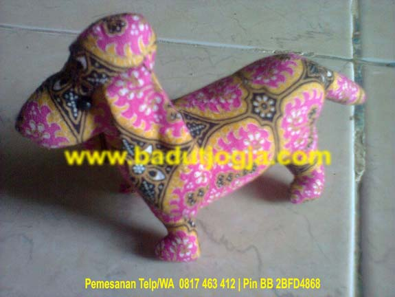 sell cute-batik-animal-dolls