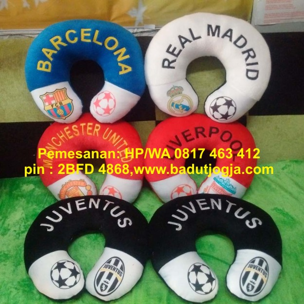 bantal leher club bola