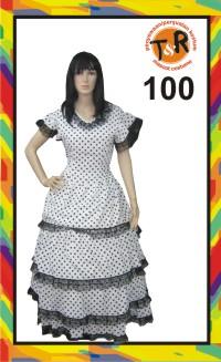 100.penyewaan kostum spanyol