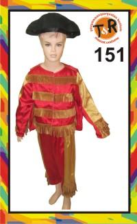 151.penyewaan kostum matador