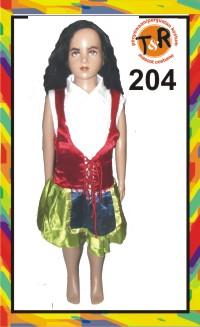 204.penyewaan kostum noni belanda