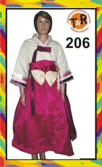 206.penyewaan kostum korea