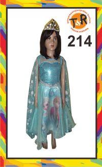 214.persewaan kostum frozen