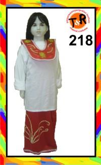 218.persewaan kostum tradisional