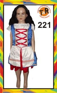 221.persewaan kostum noni belanda