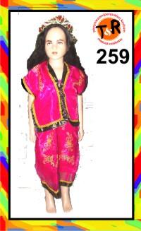 259.persewaan kostum tradisional
