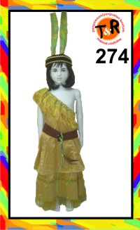 274.persewaan kostum indian