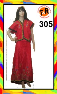 305.persewaan kostum makassar