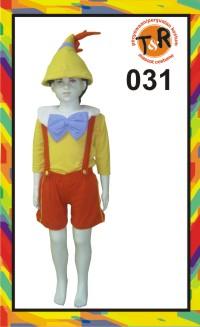 31.penyewaan kostum pinokio