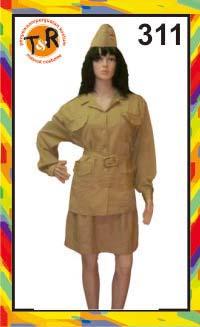 311.persewaan kostum veteran