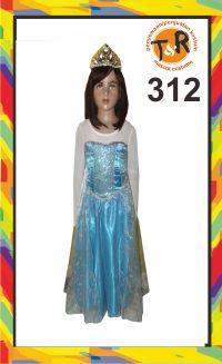 312.persewaan kostum frozen