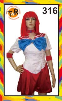 316.persewaan kostum sailormoon