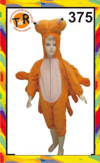 375.persewaan kostum kepiting