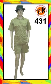 431.persewaan kostum penjaga zoo
