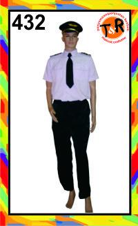 432.persewaan kostum pilot