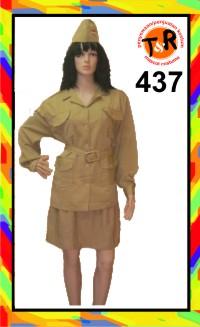 437.persewaan kostum veteran