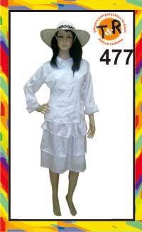 477.persewaan kostum kolonial