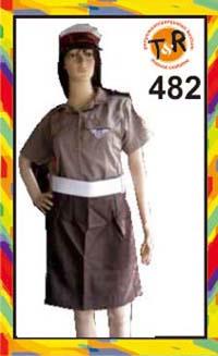 482.persewaan kostum polisi wanita