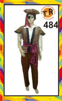 484.persewaan kostum bajak laut