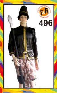 496.persewaan kostum prajurit keraton