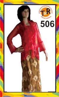 506.sewa kostum kebaya modern