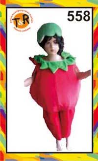 558.sewa kostum tomat